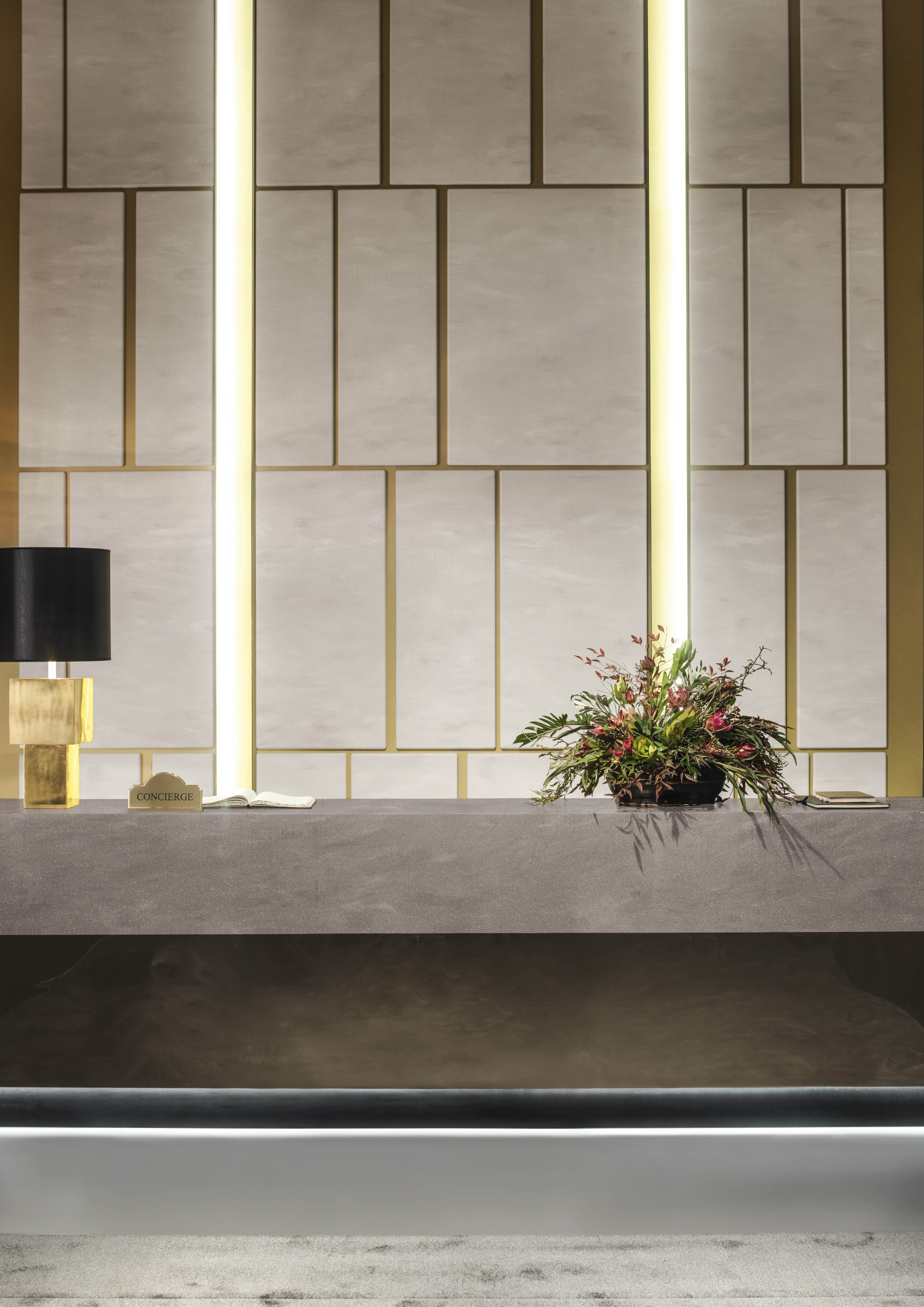 Corian 174 For Reception Counters Corian 174 Solid Surfaces