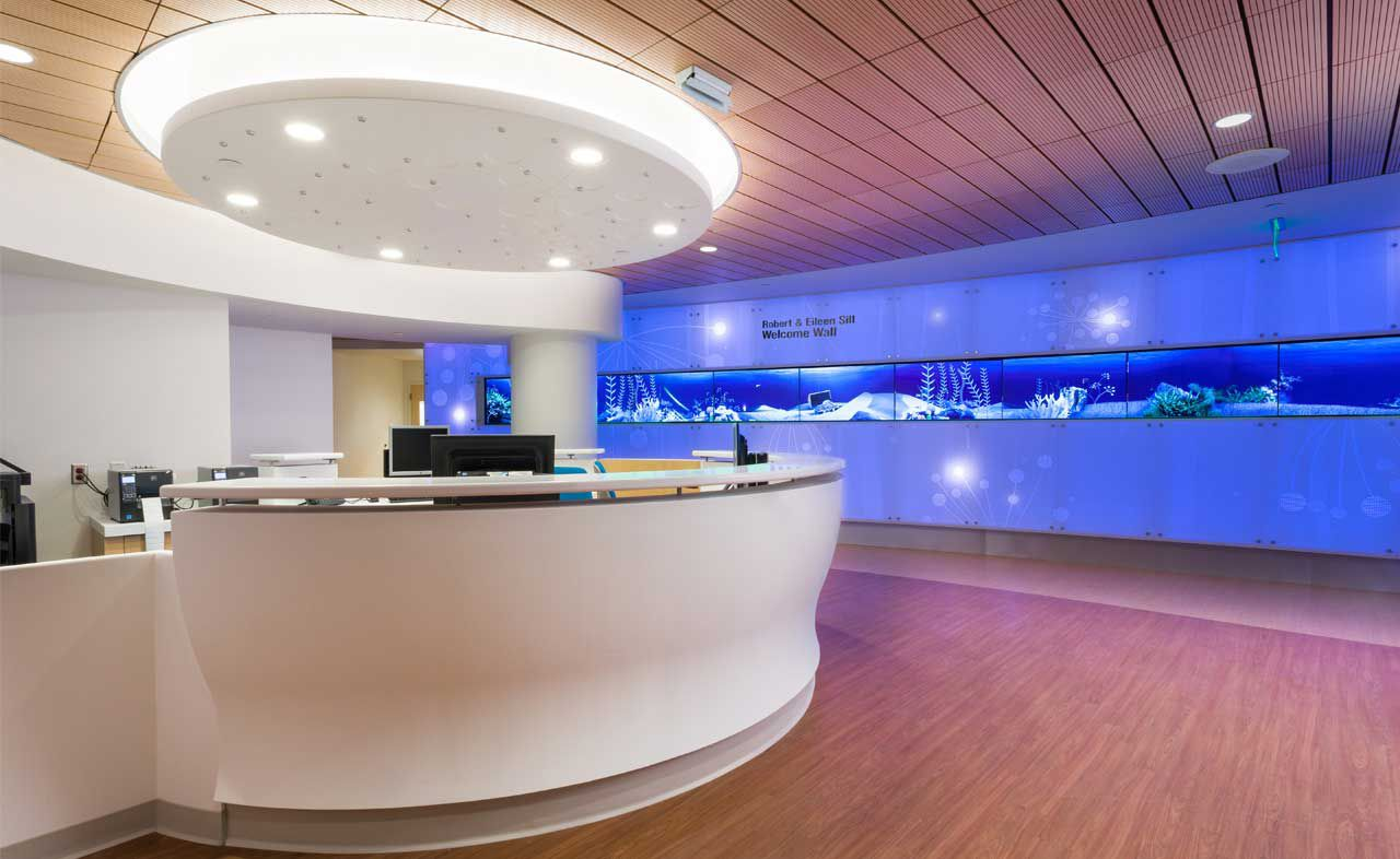 Angie Fowler Cancer Institute - Corian® solid surfaces, Corian®