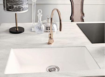 Beautiful Corian® Bold Vaso Sink 966 In Glacier White With Countertop In Corian®  Arrowroot