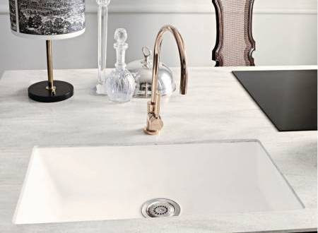 Corian Bold Vaso Sink 966 In Glacier White With Countertop Arrowroot