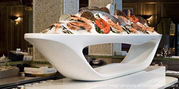 Dimensional Design At Scott S Seafood Restaurant In London
