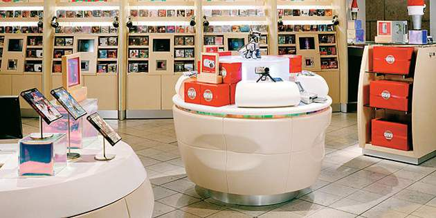 The Sony Store Used Corian® Solid Surface To Implement Retail Store Design  Ideas.