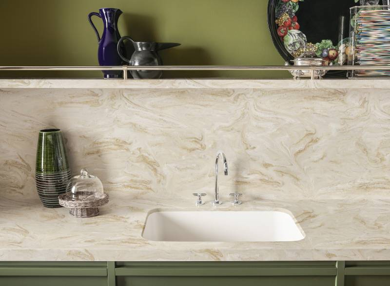 Corian® for Kitchen Countertops - Corian® solid surfaces, Corian®