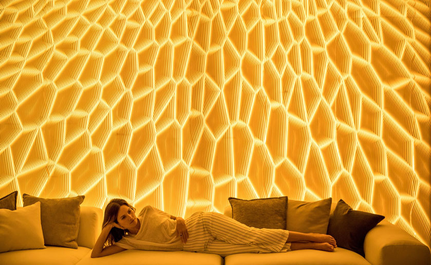 Multi Dimensional Wall Systems By M R Walls Corian