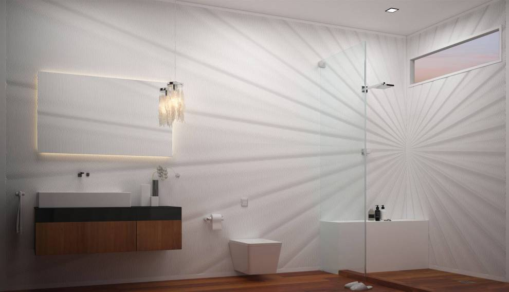 Bathroom Walls From M R