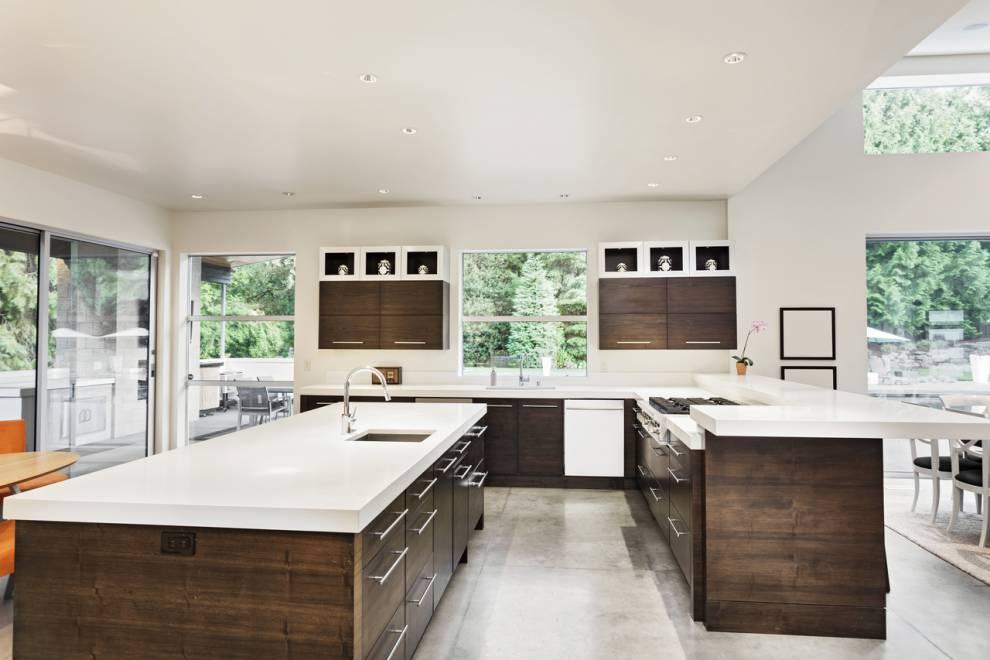 Kitchen - Corian® solid surfaces, Corian®