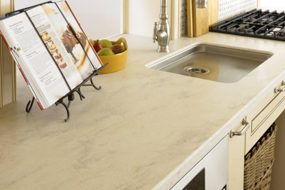Countertop In Corian® Clam Shell
