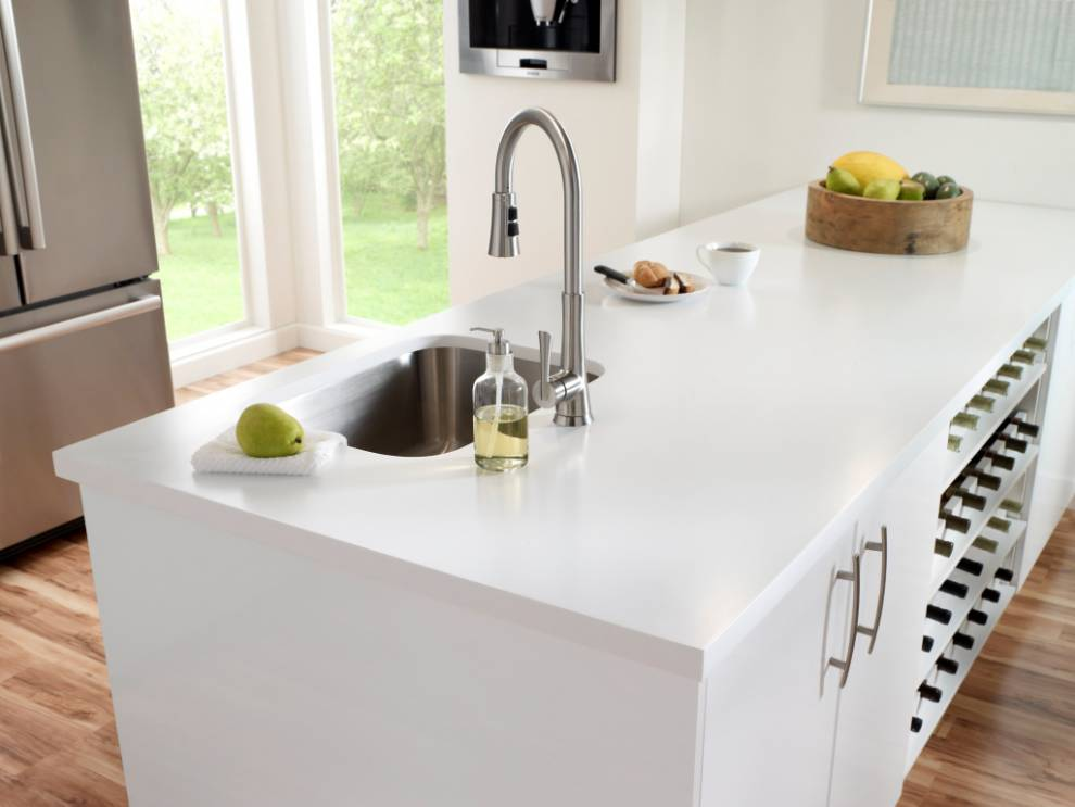 Ordinaire Countertop In Corian® Designer White