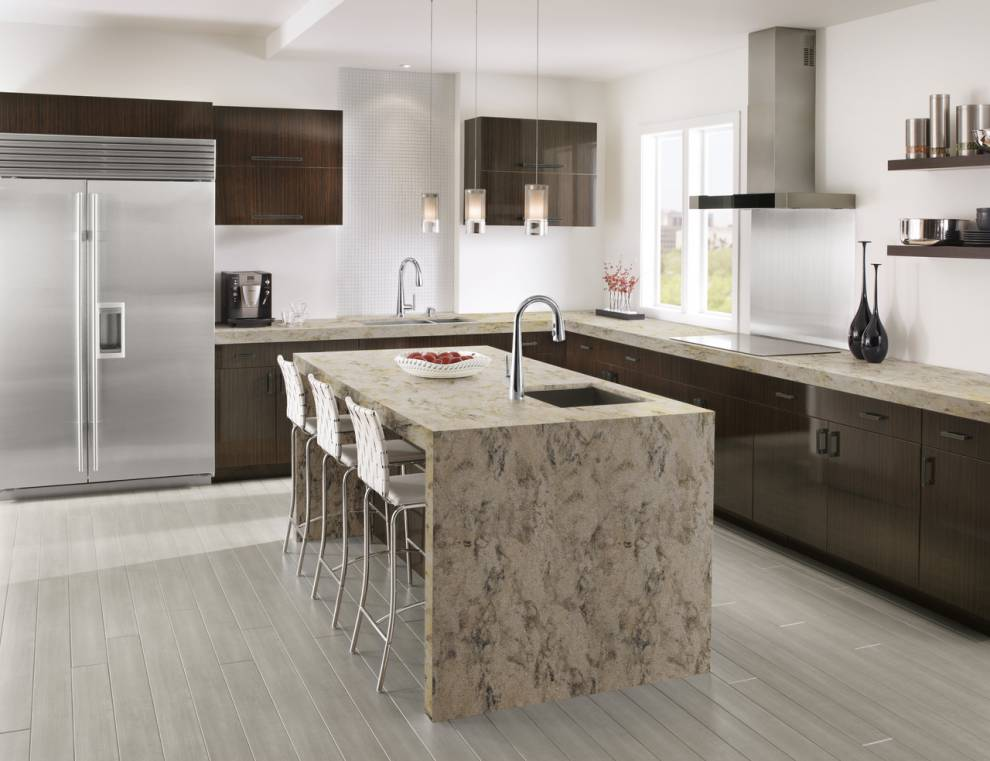 Rock Solid Concrete >> Kitchen - Corian® solid surfaces, Corian®